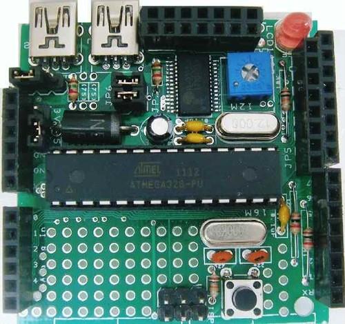 Arduino互換ボード ちびでぃ~の2 液晶付 フルキット