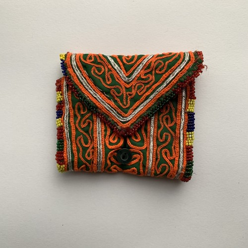 Vintage Pouch _11(アフガン ヴィンテージ 手刺繍ポーチ/財布)