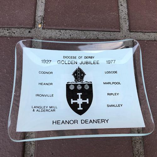 1977 Golden Jubilee Heanor Deanery Small Plate