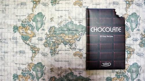 カナダ直輸入本 Chocolate: 50 Easy Recipes (英語) ハードカバー