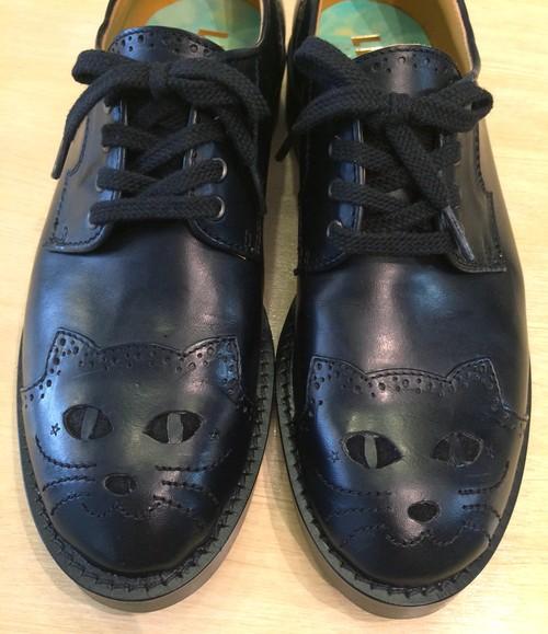 【HALO × LIFEsize】Cat Leather Shoes/レディース