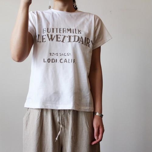 バターミルクTシャツ