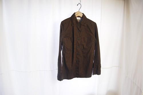 1975年 ヴィンテージシャツ【ブラウン】