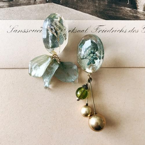 [30%off] Jelly earrings -hydrangea-