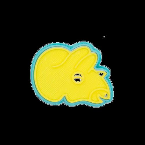クッキー型:トリケラトプス