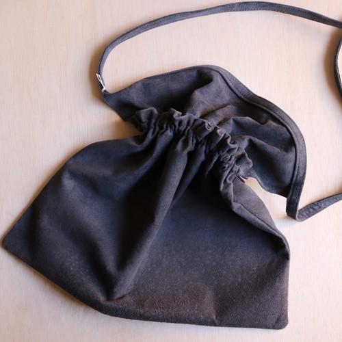 "Hender Scheme ""red cross bag big""(dark gray)"