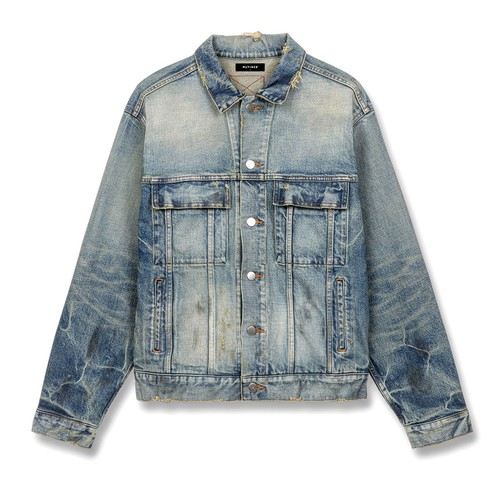 MLVINCE Type-1 Denim Trucker Jacket WASHED INDIGO
