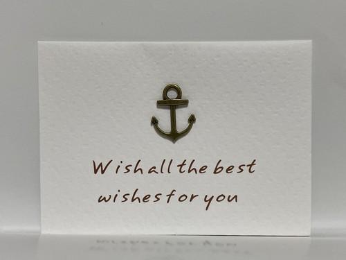 メッセージカード 「Wish all the best wishes for you」