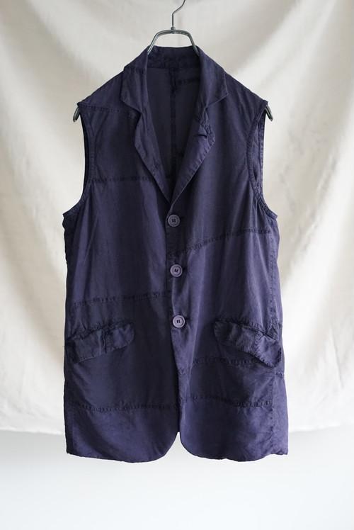 <SOLD OUT>Casey Vidalenc - Silk Patchwork Vest