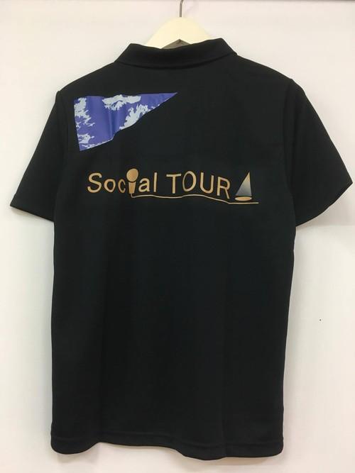 SocialTOUR ポロシャツ