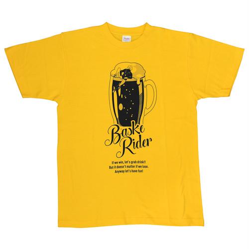 [受注生産]バスケライダー ビールTシャツ デイジー黒