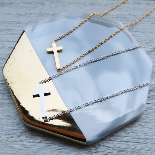 TheDelight CROSS TOP PENDANT  (クロス トップ ペンダント)