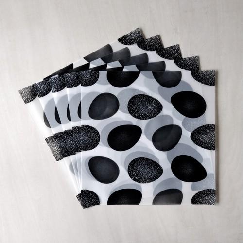 オリガミ型自由紙 半透明 たまご