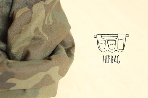 HIPBAG【カモフラ・グリーン】