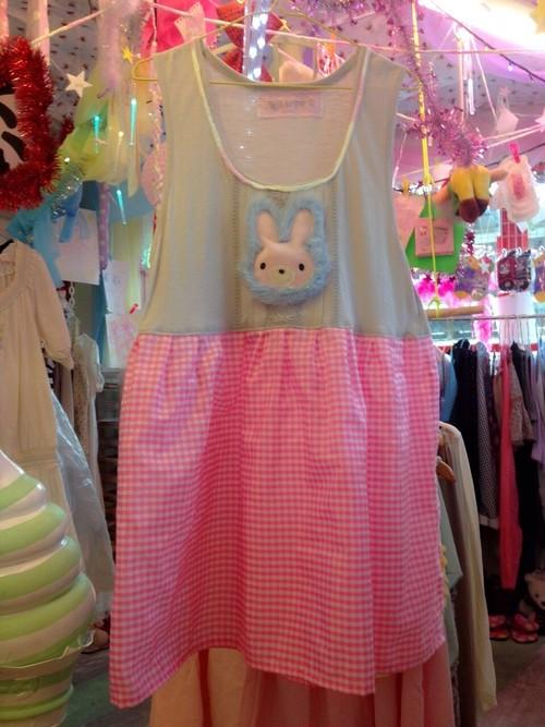 フワフワのうさぎさん切り返しドレス/魔法都市東京