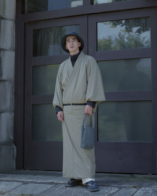 2L Octa / OUTDOOR KIMONO / Beige(With tailoring)