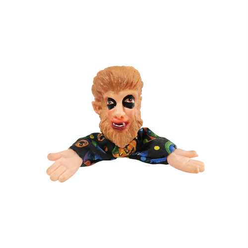 The Wolf Man Hand Puppet bootleg soft vinyl Doll