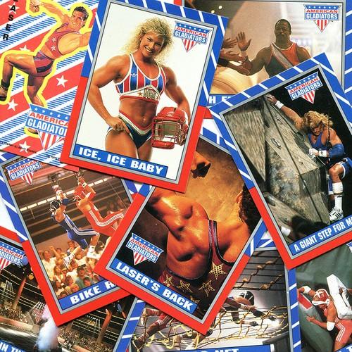 1991 - AMERICAN GLADIATORS (TV) - トレーディングカードパック