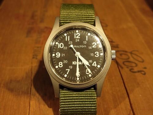 "80's HAMILTON Vintage Watch ""Khaki"""