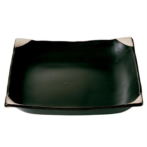 直火の器 黒釉 ほっこり鍋27502/フライパンと同じに使える便利鍋、電子レンジ対応