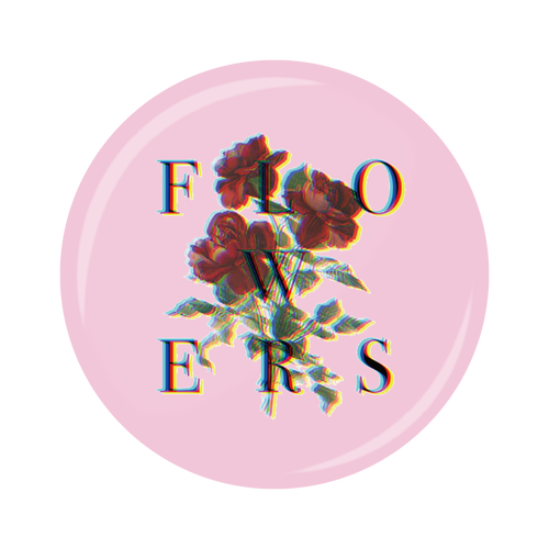 FLOWERS Can Badge(ギフト可)