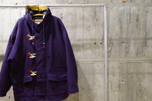 Bigsilhouette melton duffle coat(USED)