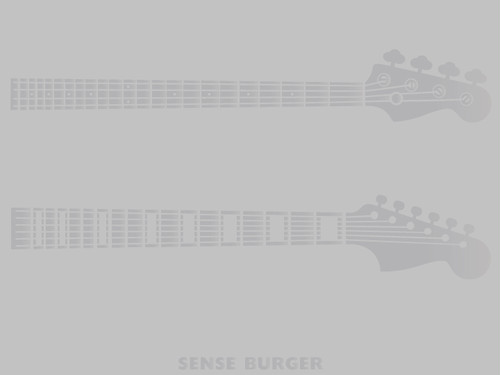 guitar bass ギター ベース セット 車に貼り付け シール ステッカー デカール エンブレム カスタム トロイ 楽器 ROCK ロック 弦 バイク Silver 銀色 シルバー【sti08211sil】