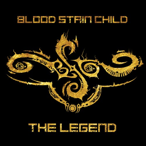 """BLOOD STAIN CHILD """"THE LEGEND"""" CD"""