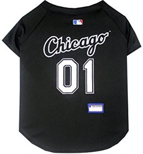 """MLBオフィシャル犬用ユニフォーム""""Chicago White Sox""""XS~L"""