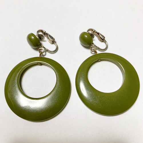 Vintage Bakelite Earrings ②