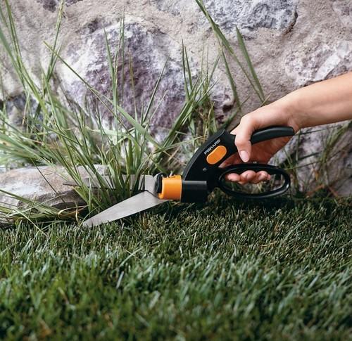 フィスカース 芝生・垣根刈り込み用はさみ 芝用ハンドはさみ回転刃 2004000136