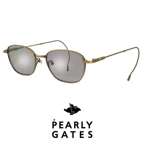 日本製 PEARLY GATES パーリーゲイツ メンズ サングラス pg-8903-1 ゴルフ サングラス pearly gates (パーリー ゲイツ) 巻きつる