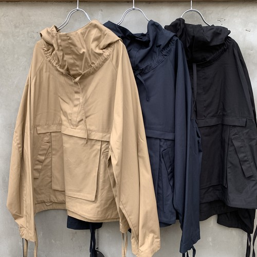 "VOAAOV  ""Cotton Hood Anorak"""