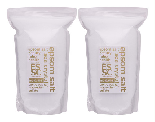エプソムソルト モイスチャーライザー 8kg(4kgX4kg) 入浴剤 フィチン酸配合 弱酸性浴用化粧品 化粧水のような入浴でしっとり保湿 放射能検査 品質検査済 バスソルト