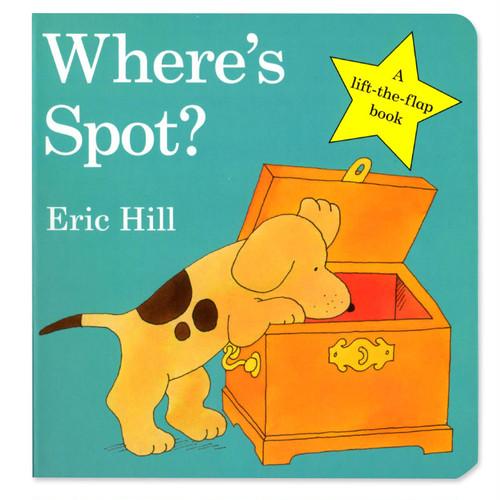 Where's Spot(コロちゃんはどこ?)