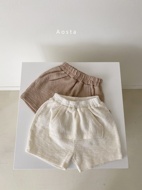 【予約販売】butter scoop pants〈Aosta〉