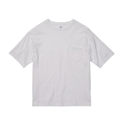 デザインチョイス 5.6オンス ビッグシルエット Tシャツ(ポケット付)