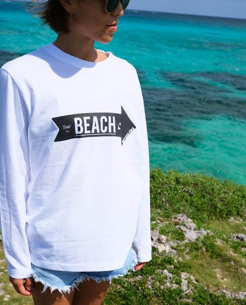 MIYAKOJIMA BEACH ➡︎ Long sleeve T-shirt