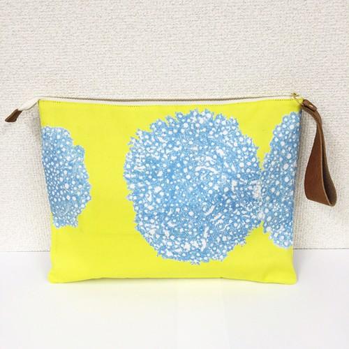 """clutch bag  """"夏の日の雪の日"""""""