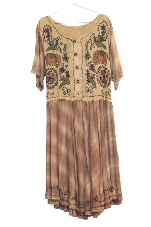 vintage one-piece dress