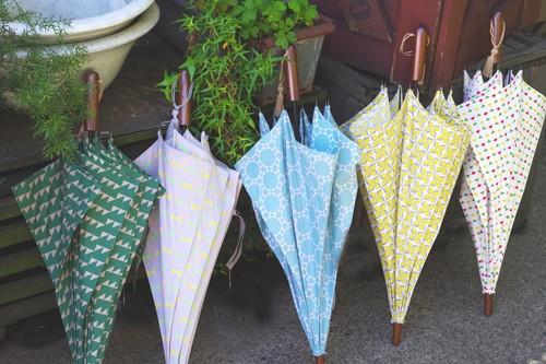 【50%off!】おしゃれなデザイン京プリントの晴雨兼用傘(長傘)!紫外線対策に!¥14040→¥7120osotoオリジナル