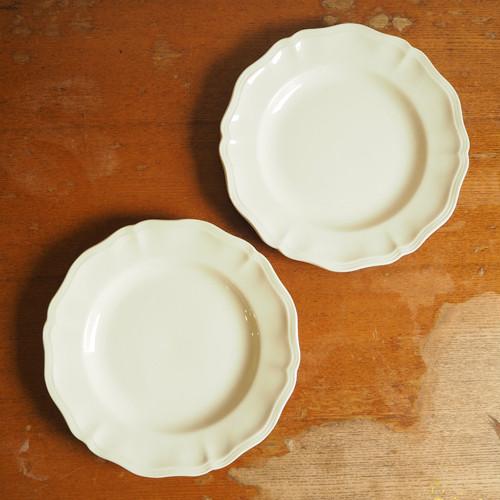 Sarreguemines(サルグミンヌ)リム平皿