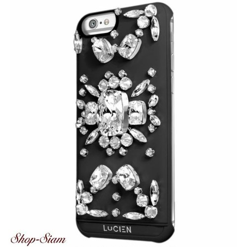 LUCIEN(ルシアン) iPhone6/6S/SE case Miss Lucien <Black>