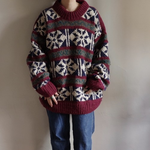 Ecuador Sweater/ エクアドル セーター