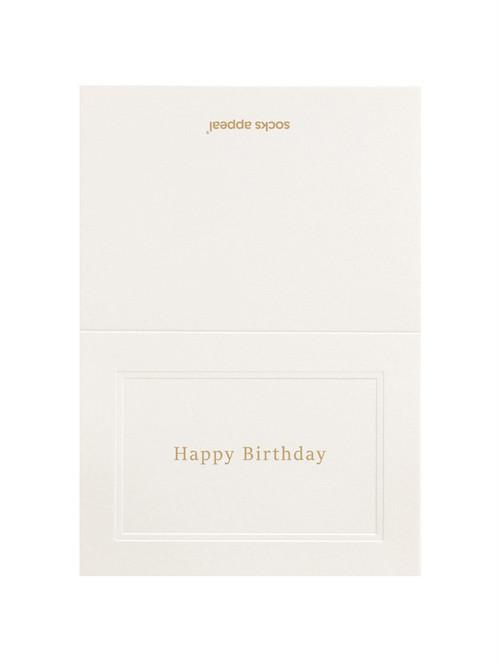 MESSAGE CARD【Happy Birthday】