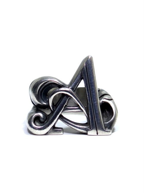 alphabet ring#A (silver925) - アルファベットモチーフ リングA-