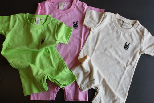 Colorful  baby  Rompers(80size ロンパース)