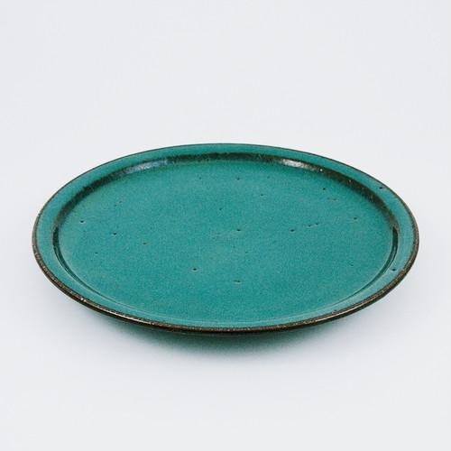 八寸皿 緑釉【再入荷】