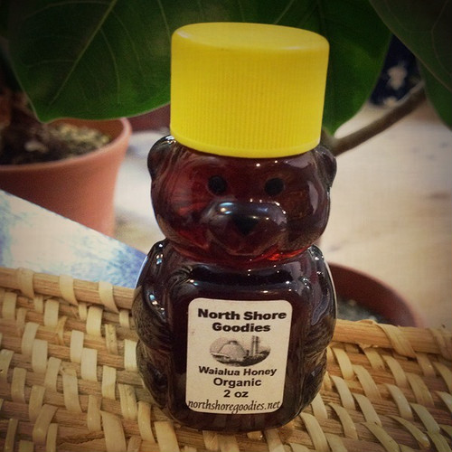 Waialua mini bear honey(2oz)