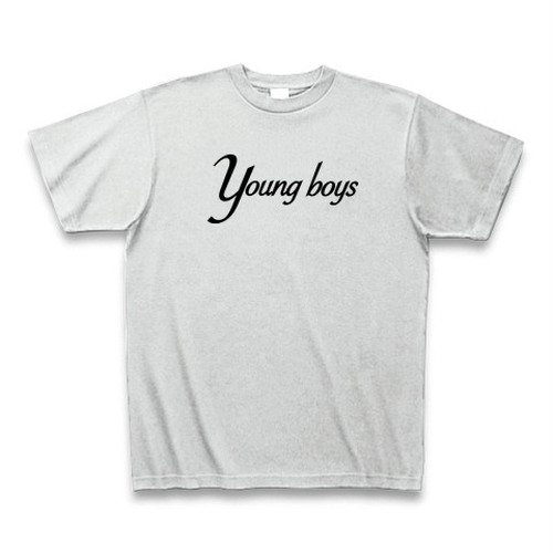 Young Boys T-shirt ash